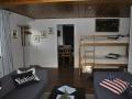 Vardagsrum/Tv rum med våningsäng
