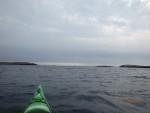 Påväg mot Hällsö och Flatskär